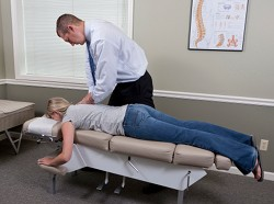 Thoracic adjustment